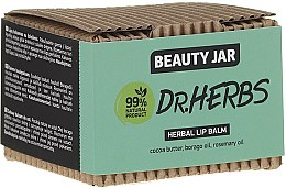 Parfémy, Parfumerie, kosmetika Balzám na rty - Beauty Jar Dr.Herbs Herbal Lip Balm