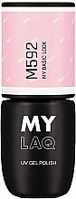 Parfémy, Parfumerie, kosmetika Hybridní lak na nehty - MylaQ UV Gel Polish