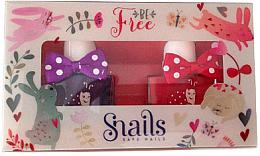 Parfémy, Parfumerie, kosmetika Sada dětských laků na nehty 2x10,5ml - Snails Mini Bebe Be Free