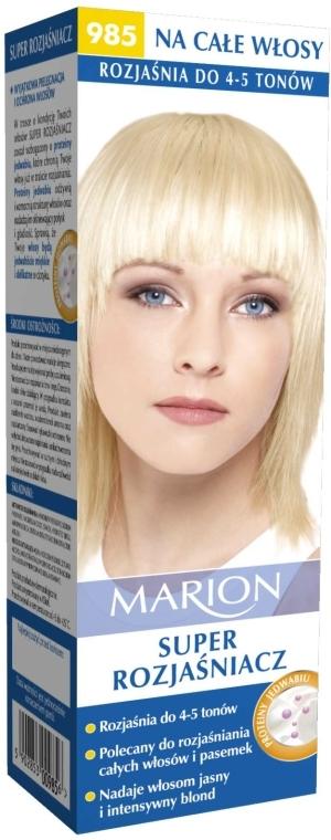 Zesvětlovač na vlasy №985 - Marion Super Brightener
