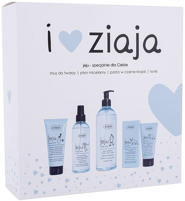 Sada - Ziaja I Love Ziaja (f/paste/75ml + f/tonic/200ml + mincellar/water/390ml + f/muss/50ml)