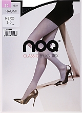 Parfémy, Parfumerie, kosmetika Dámské punčocháče Naomi 20 Den, nero - Knittex