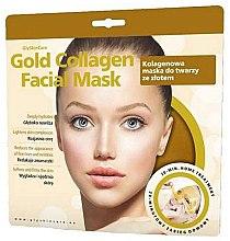 Parfémy, Parfumerie, kosmetika Kolagenová obličejová maska se zlatem - GlySkinCare Gold Collagen Facial Mask