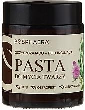Parfémy, Parfumerie, kosmetika Čisticí peeling-pasta na obličej s zelenými řasami - Bosphaera