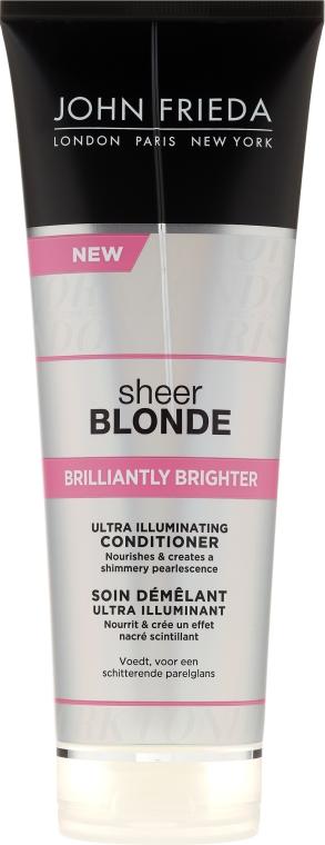 Kondicionér pro oživení blond barvy vlasů s perleťovým leskem - John Frieda Sheer Blonde Brilliantly Brighter Conditioner