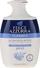 "Parfémy, Parfumerie, kosmetika Tekuté mýdlo pro intimní hygienu ""Classic"" - Felce Azzurra Classic Intimate Wash"