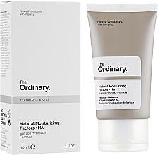 Parfémy, Parfumerie, kosmetika Lehký hydratační krém Přírodní hydratační faktory - The Ordinary Natural Moisturizing Factors + HA