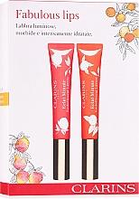 Parfémy, Parfumerie, kosmetika Sada - Clarins Fabulous Lips Set (lip/gloss/2x12 ml)