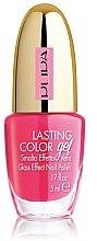 Parfémy, Parfumerie, kosmetika Gelový lak na nehty se skleněným efektem - Pupa Lasting Color Gel Collection 2015