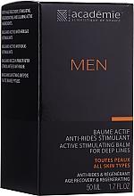 Parfémy, Parfumerie, kosmetika Aktivní stimulační balzám po holení - Academie Men Active Stimulating Balm for Deep Lines
