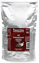 Parfémy, Parfumerie, kosmetika Bahenní sůl s rozmarýnem a extraktem z řas - BingoSpa Salt Mud Extract Of Rosemary