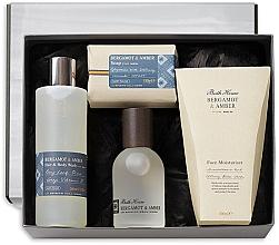 Parfémy, Parfumerie, kosmetika Bath House Bergamot & Amber - Sada (edc/100ml + sh/gel/260ml + f/cr/100ml + soap/150g)