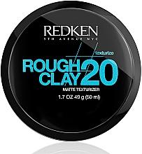 Parfémy, Parfumerie, kosmetika Texturizační hlína na vlasy - Redken Rough Clay Matte Texturizer 20