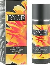 Parfémy, Parfumerie, kosmetika Denní krém s kyselinou hyaluronovou a arganovým olejem - Ryor Day Cream With Hyaluronic Acid And Argan Oil