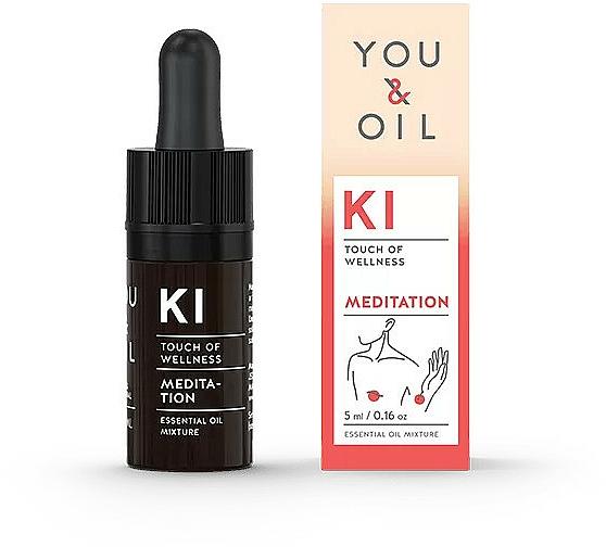 Směs esenciálních olejů - You & Oil KI-Meditation Bites Touch Of Welness Essential Oil