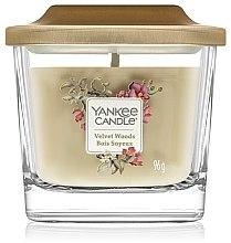 Parfémy, Parfumerie, kosmetika Vonná svíčka - Yankee Candle Elevation Velvet Woods