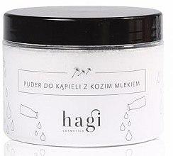 Parfémy, Parfumerie, kosmetika Pudr do koupele s kozím mlékem - Hagi Bath Puder