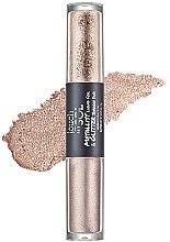 Parfémy, Parfumerie, kosmetika Oční stíny - Touch in Sol Metallist Liquid Foil & Glitter Eye Shadow Duo