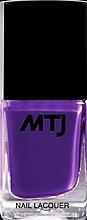 Parfémy, Parfumerie, kosmetika Lak na nehty - MTJ Cosmetics Nail Lacquer