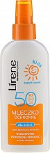 Parfémy, Parfumerie, kosmetika Ochranné mléko sprej na opalování SPF 50 - Lirene Kids Sun Protection Milk Spray SPF 50
