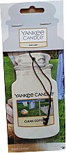 Parfémy, Parfumerie, kosmetika Vůně do auta - Yankee Candle Car Jar Clean Cotton