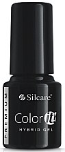 Parfémy, Parfumerie, kosmetika Gel lak na nehty - Silcare Color IT Premium Hybrid Gel