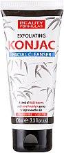 Parfémy, Parfumerie, kosmetika Gel na obličej, čisticí - Beauty Formulas Exfoliating Konjac Facial Cleanser