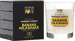 """Parfémy, Parfumerie, kosmetika Přírodní masážní svíčka """"Banan"""" - Sezmar Collection"""