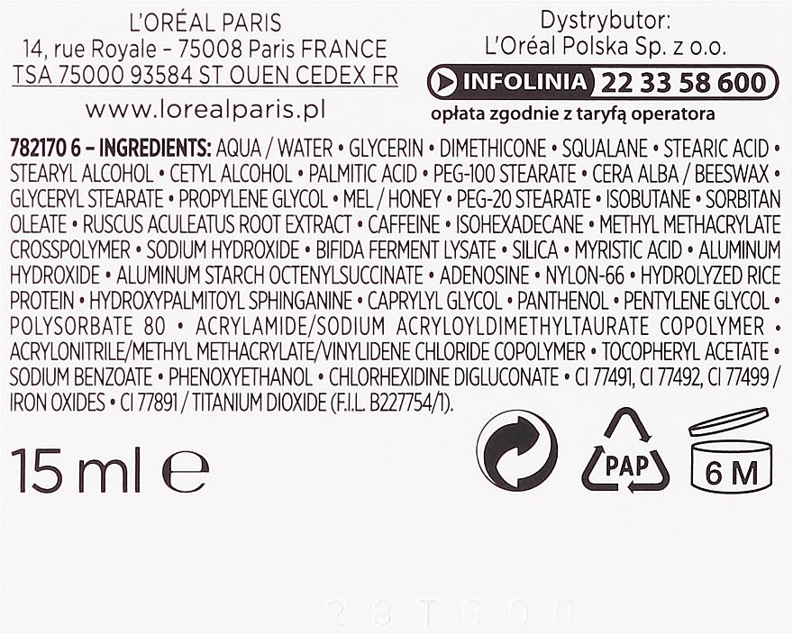 "Krém proti vráskám kolem očí ""Věk expert Trio Aktiv 60+. Adenosin a kofein"" - L'Oreal Paris Age Expert Anti-Wrinkle Rebuilding Eye Cream — foto N3"