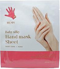 Parfémy, Parfumerie, kosmetika Látková maska na ruce - Holika Holika Baby Silky Hand Mask Sheet