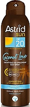 Parfémy, Parfumerie, kosmetika Suchý opalovací olej-sprej SPF20 - Astrid Sun Easy Spray Coconut Love SPF20
