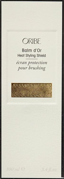 Ochrana před tepelným stylingem - Oribe Balm d`Or Heat Styling Shield — foto N3