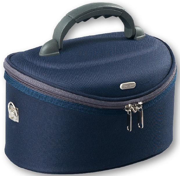 Kosmetická taška velká oválná, 95061, modrá - Top Choice Oval Navy