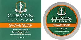 Parfémy, Parfumerie, kosmetika Přírodní mýdlo na holení - Clubman Pinaud Shave Soap