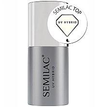 Parfémy, Parfumerie, kosmetika Vrchní gel lak - Semilac UV Hybrid