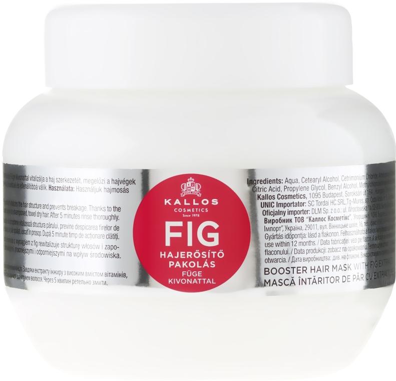 Vlasová maska s komplexem vitaminů - Kallos Cosmetics FIG Booster Hair Mask With Fig Extract
