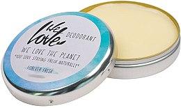 """Parfémy, Parfumerie, kosmetika Přírodní krémový deodorant """"Forever Fresh"""" - We Love The Planet Deodorant Forever Fresh"""