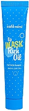 Parfémy, Parfumerie, kosmetika Vyživující maska na rty - Cafe Mimi Lip Mask Rich Oil