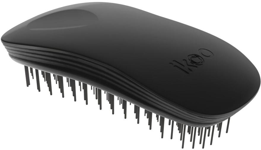 Kartáč na vlasy - Ikoo Home Black Brush — foto N1