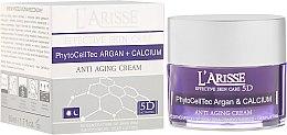 Parfémy, Parfumerie, kosmetika Krém proti vráskám s arganovými kmenovými buňkami a BIO vápníkem 75+ - Ava Laboratorium L'Arisse 5D Anti-Wrinkle Cream Stem PhytoCellTech Argan + Calcium