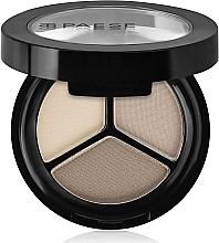 Parfémy, Parfumerie, kosmetika Trojité matové oční stíny - Paese Triple Eyeshadows Trio Matt