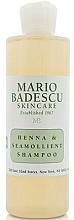 Parfémy, Parfumerie, kosmetika Šampon pro všechny typy vlasů - Mario Badescu Henna & Seamollient Shampoo