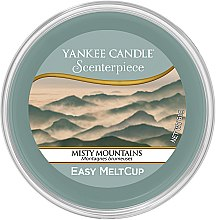 Parfémy, Parfumerie, kosmetika Aromatický vosk - Yankee Candle Misty Mountains Scenterpiece Melt Cup
