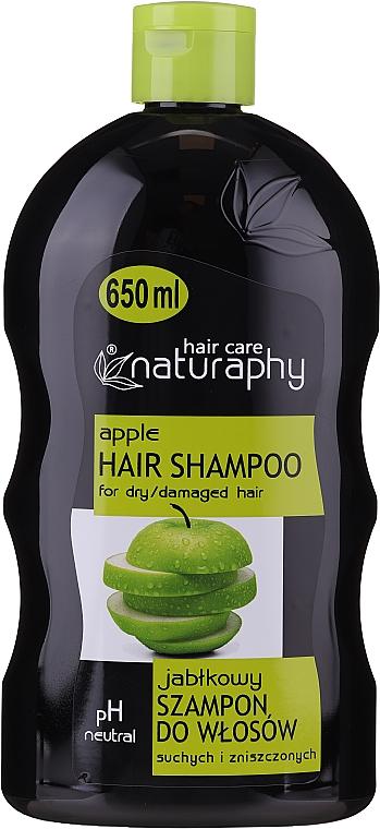 Šampon pro suché a poškozené vlasy Jablko - Bluxcosmetics Naturaphy Apple Hair Shampoo