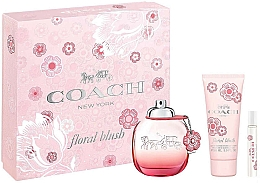Parfémy, Parfumerie, kosmetika Coach Floral Blush - Sada (edp/90ml+ edp/7.5ml + b/lot/100ml)