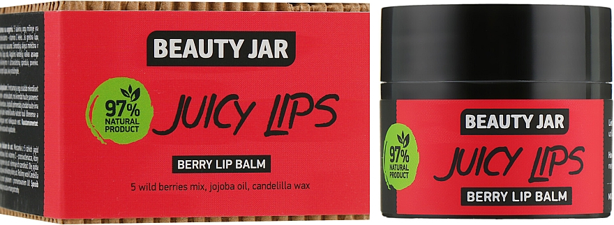 Balzám na rty s lesními plody Juicy Lips - Beauty Jar Berry Lip Balm