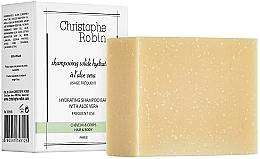 Parfémy, Parfumerie, kosmetika Tuhý šampon s aloe vera - Christophe Robin Hydrating Shampoo Bar with Aloe Vera