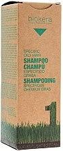 Parfémy, Parfumerie, kosmetika Šampon pro mastnou pokožku hlavy - Salerm Biokera Specific Oil Hair Shampoo