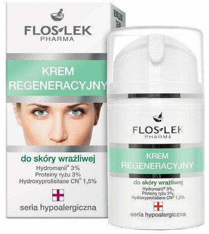 Regenerační krém pro citlivou plet' - Floslek Face Cream