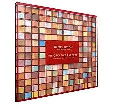 Parfémy, Parfumerie, kosmetika Paleta očních stínů, 196 odstínů - Makeup Revolution 196 Creative Palette Eyeshadow Palette